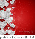 Vector Happy Valentine's Day greeting card 28385156