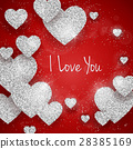 Vector Happy Valentine's Day greeting card 28385169