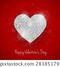 Vector Happy Valentine's Day greeting card 28385179