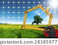 Project of Ecological House with Solar Panel 28385977