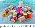 Colorful sewing thread 28386419