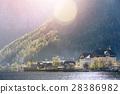 hallstatt austria village 28386982