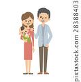 가족 【심플 캐릭터 시리즈] 28388403