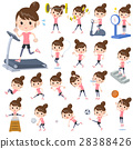 Bun hair mom Sports & exercise 28388426