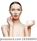 Beautiful Woman with Clean Fresh Skin  28388840