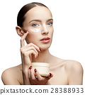 Beautiful Woman with Clean Fresh Skin  28388933