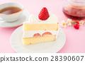케잌 딸기 케잌 딸기 케이크 스폰지 케이크 28390607