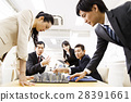 Real Estate Meeting Presentation Meeting Urban Development Building Construction Team Business Office Businessman 28391661