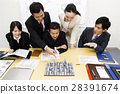 Real Estate Meeting Presentation Meeting Urban Development Building Construction Team Business Office Businessman 28391674