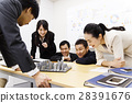 Real Estate Meeting Presentation Meeting Urban Development Building Construction Team Business Office Businessman 28391676