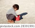 公園 玩耍 演奏 28391991