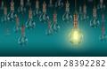 Light bulb lamps. 3D rendering 28392282