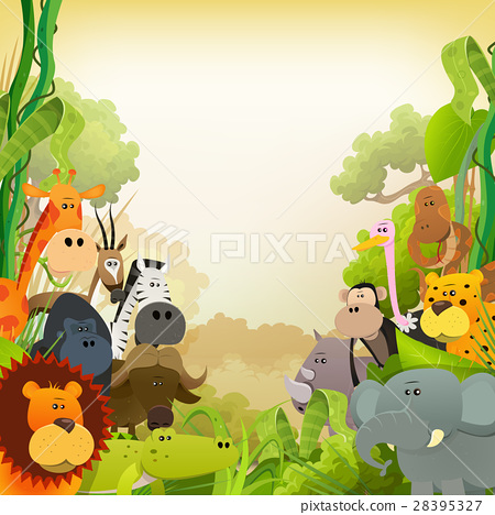 Wildlife African Animals Background 28395327