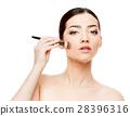 face, female, woman 28396316
