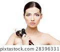 Beautiful Woman with Clean Fresh Skin  28396331