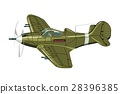 vector, cartoon, airplane 28396385