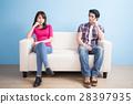 young couple feel bad 28397935