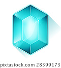 gem, crystal, icon 28399173