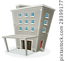 Building House With Offices Or Apartments 28399177