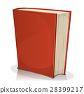 book, cover, red 28399217