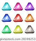 diamond, crystal, icon 28399253