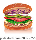 漢堡 魚 素食者 28399255