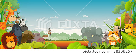 Wildlife African Animals Background 28399257