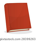 book, cover, red 28399263