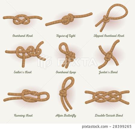 Rope Knots Set 28399265