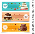 banner, set, bakery 28399564