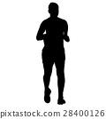 runner, vector, run 28400126