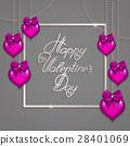 heart chain vector 28401069
