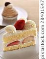 딸기 케잌과 몽블랑 28401547