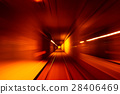 speed, tunnel, rail 28406469