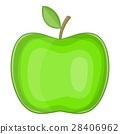 녹색, 벡터, 만화 28406962