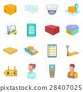 warehouse, store, icon 28407025