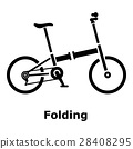 bicycle, simple, icon 28408295