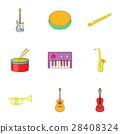 音乐 图标 矢量 28408324