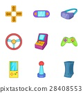 video, games, icon 28408553