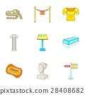 museum, vector, set 28408682