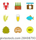 alcohol, icon, vector 28408793