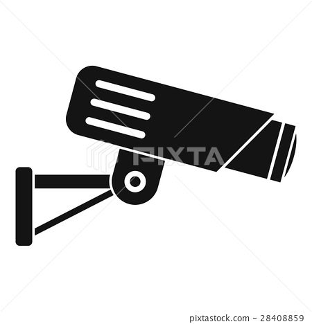 Security camera icon, simple style 28408859