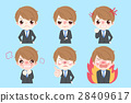 businessman with angry emotion 28409617