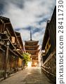 eight-story pagoda hokanji 28411730