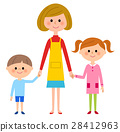 Mother and sibling 28412963