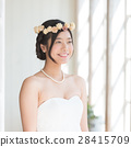 婚禮 新娘 笑容 28415709