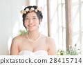 婚禮 新娘 笑容 28415714