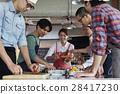 专业男性烹饪学校教师教授 28417230
