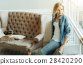 woman, relaxed, sofa 28420290