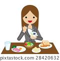 อาหารเช้า,กิน,มื้ออาหาร 28420632